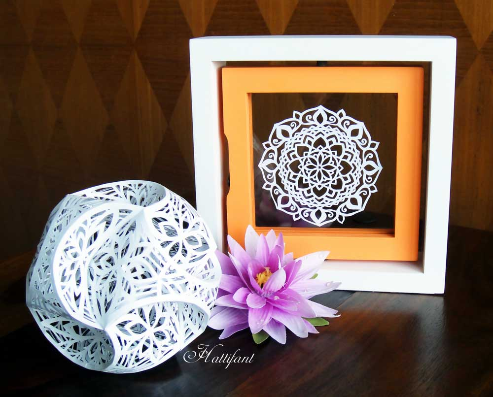 A Mandala Papercut to welcome the weekend - Hattifant