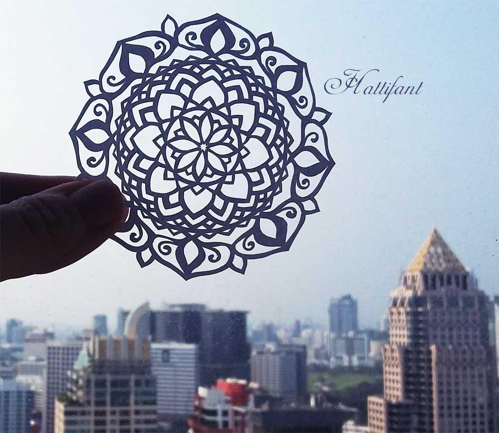 Hattifant Mandala Paprcut