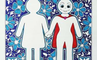Hattifant International Womens Day it was never a dress illustration
