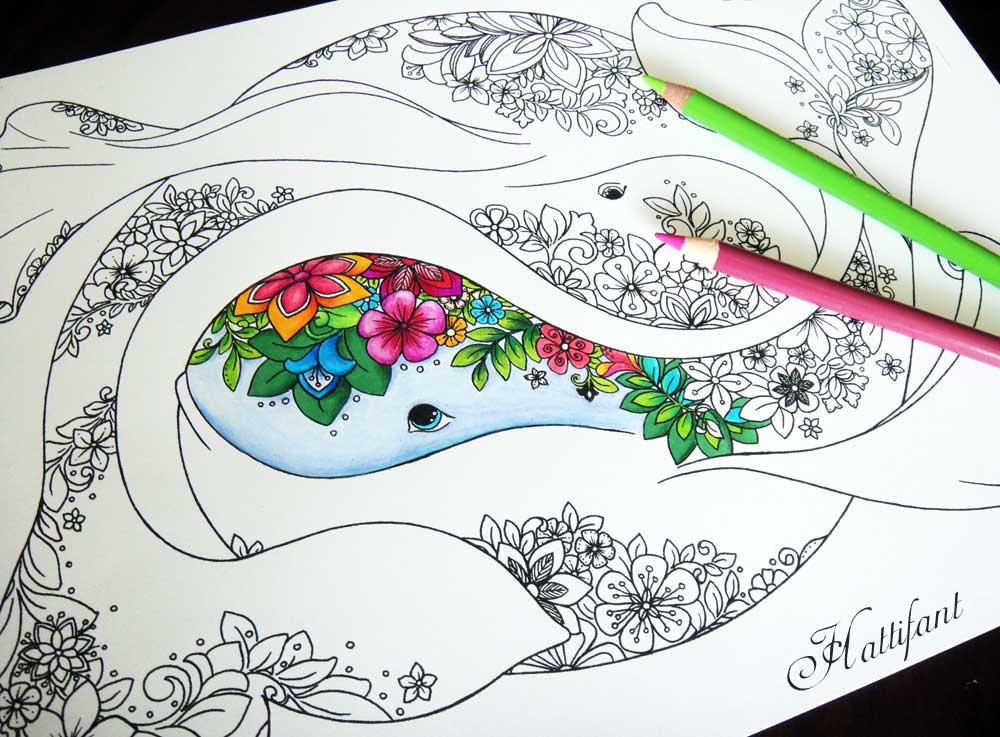 Easy Coloring Pages | Free Printable Ocean Fish Easy Coloring ... | 737x1000