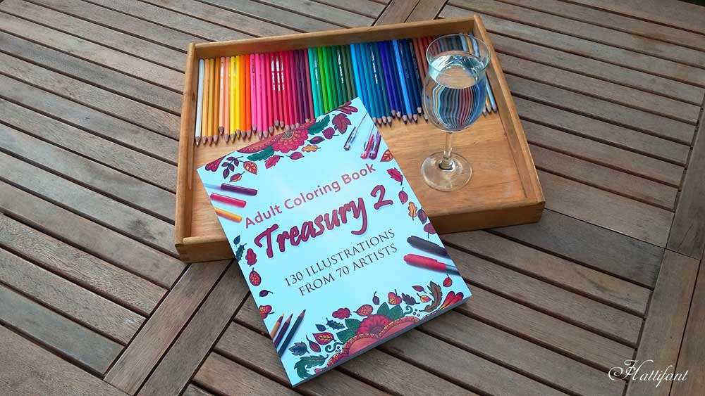 Hattifant Adult coloring book Treasury 2