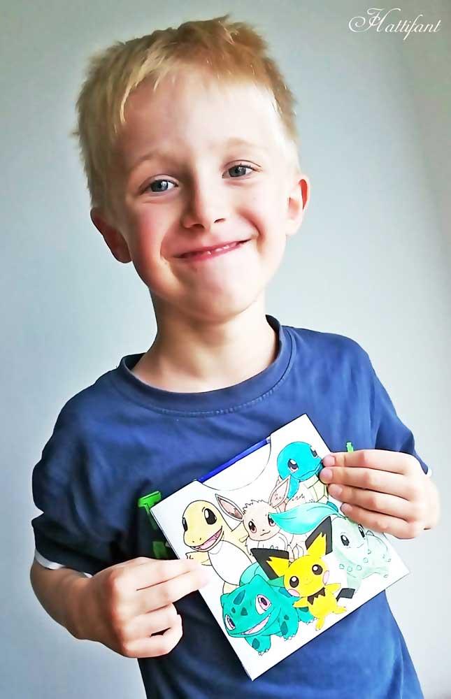 Hattifant Pokemon Evolution Endless Neverending Cards papercraft Printable pocket envelope