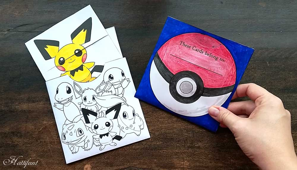 Hattifant Pokemon Evolution Endless Neverending Cards papercraft Printable pocket