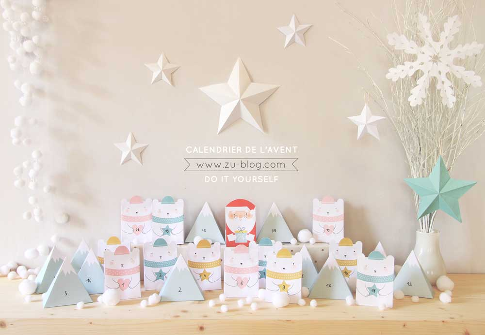 Advent Calendar by Zu Blog
