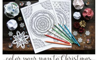 Hattifant's Mandala Advent Calendar to color your way to Christmas in style