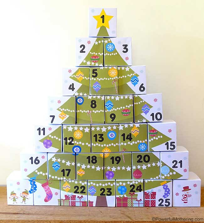 Advent Calendar by Powerful Mothering