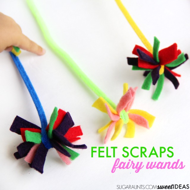 Hattifant favorite Felt crafts Fairy Wands by Sugar Aunts