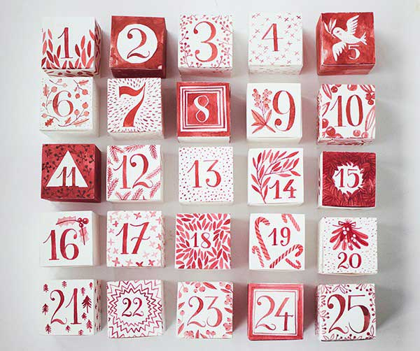 Advent Calendar by Hellobee