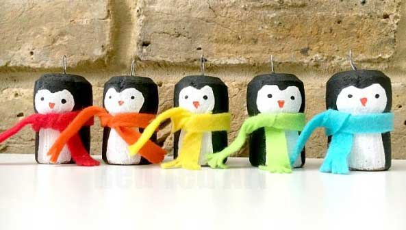 Hattifant favorite Felt crafts penguins by red ted art