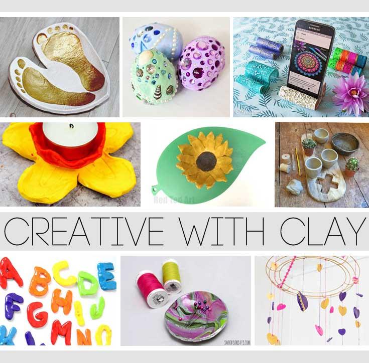 Hattifant's Favorite Clay Crafts Pinch Pots