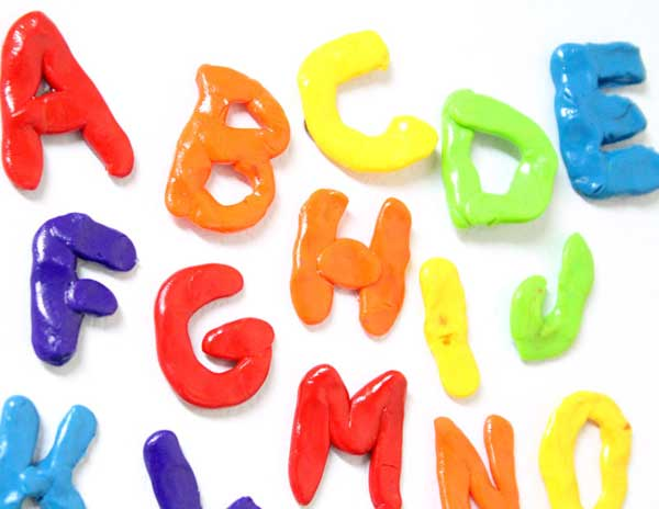 Hattifant's Favorite Clay Crafts ABC Magnets