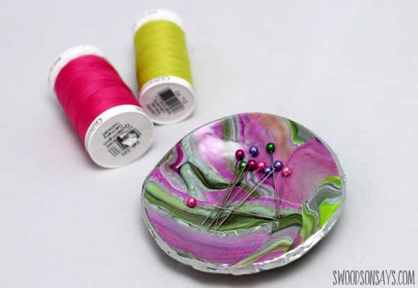 Hattifant's Favorite Clay Crafts Magnetic Pin Bowl