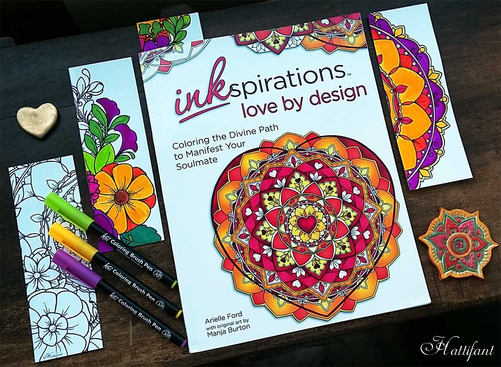 Hattifant's Coloring Book Inkspirations