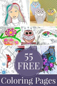 55 FREE Coloring PAGES