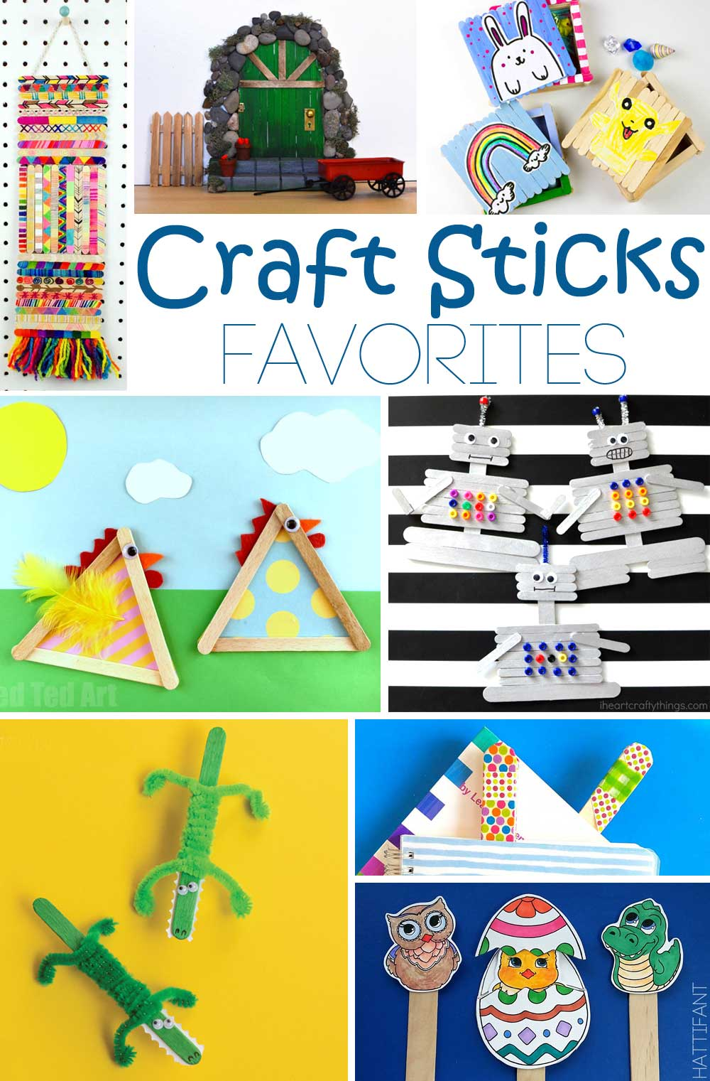 Hattifant's Craft Stick Favorites Crafts