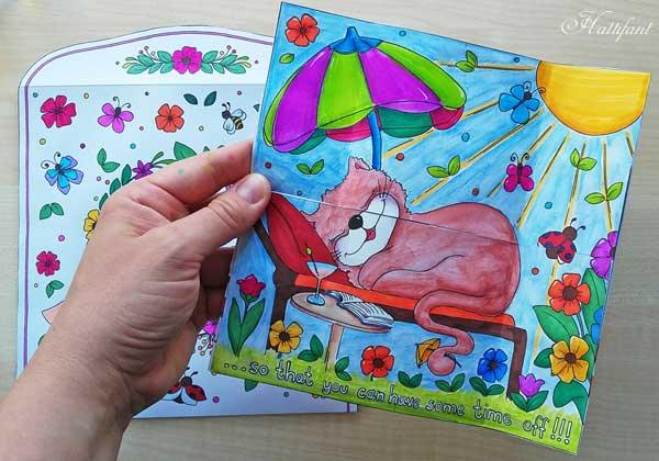 Hattifant's Endless Card Purr-thday Card and Purrfect Gift Card page 3
