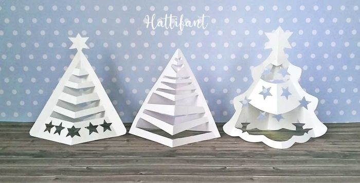 Hattifant-3D-Christmas-Tree-Paper-Papercraft-Free