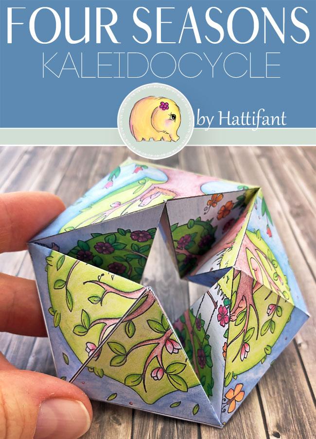 Hattifant's Four Seasons Flextangle Kaleidocycle