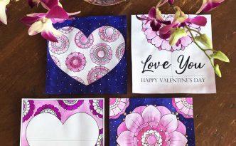 Hattifant's Valentine's Day Endless Card Bundle colored