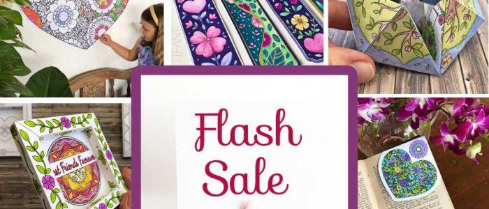 Hattifant's giant superduper Spring Valentine and Easter Paper Craft Bundle Sale