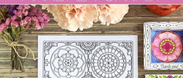 Hattifant's Mandala Carpet Coloring Page Set