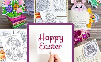Hattifant's Easter Paper Craft Bundle 2019