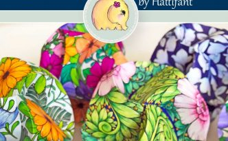 Hattifant's Triskele Paper Globe Bundle 3D Paper Craft to Color