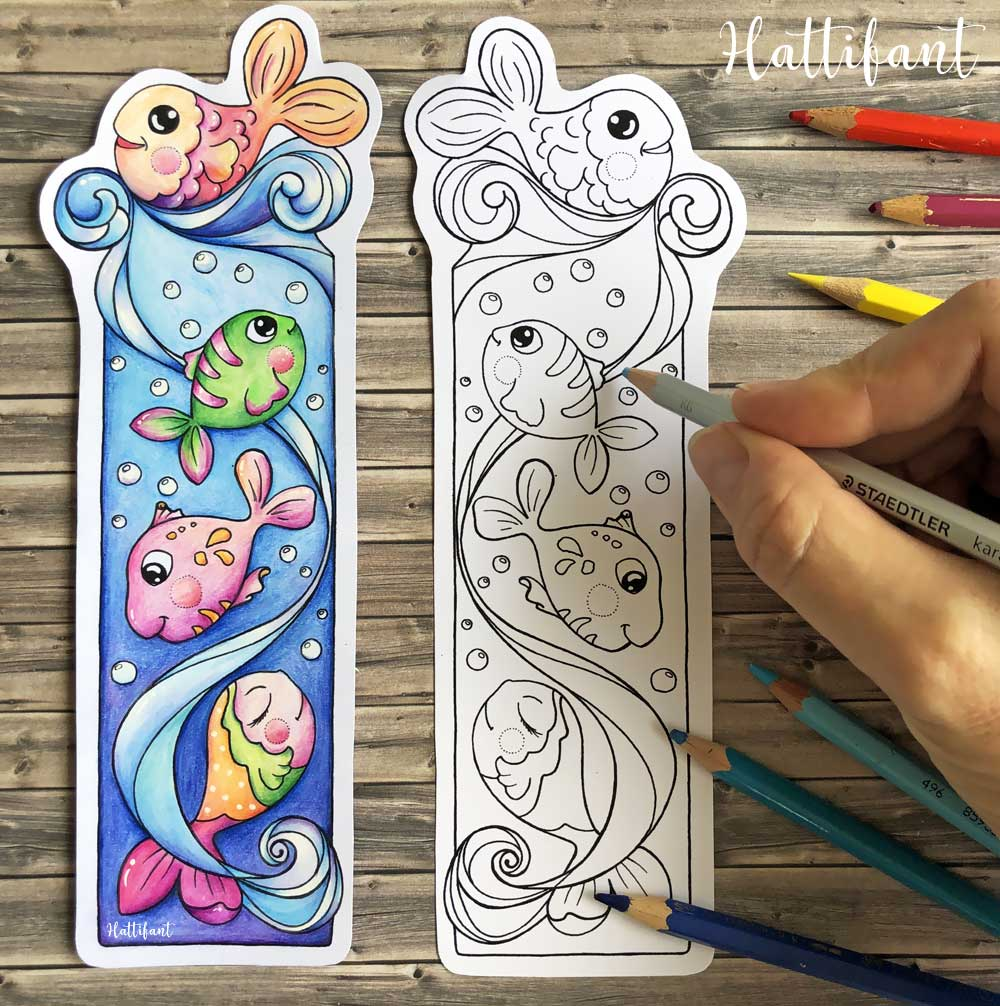 BOOKMARK | Ocean to Color - Hattifant