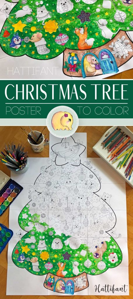 Hattifant-Giant-Poster-Christmas-Tree-Animal-Cuties-to ...