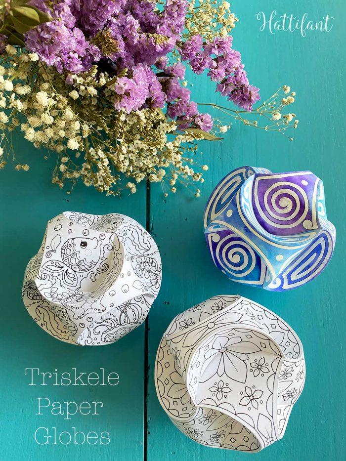 Hattifant's Triskele Paper Globe Original Bundle