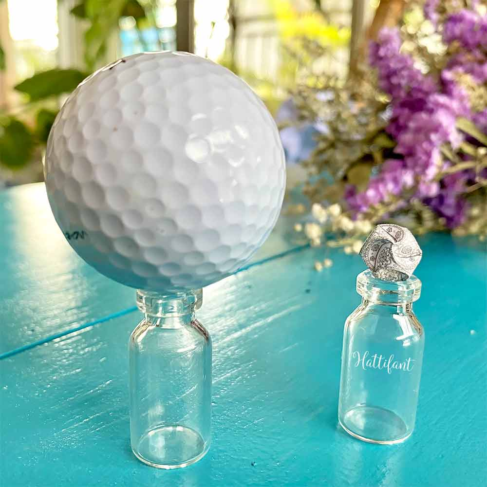 The smallest of the globes for you to craft in the Triskele Paper Globe Challenge is way smaller than a golf ball!