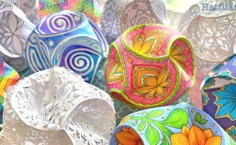 Hattifant's Triskele Paper Globes