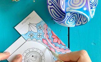 Hattifant's Triskele Paper Globe Scoring Aid How To 15