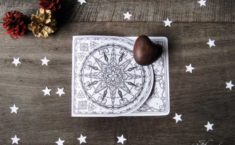 Hattifant Pop Up Card Shooting Star to Craft and Color DIY